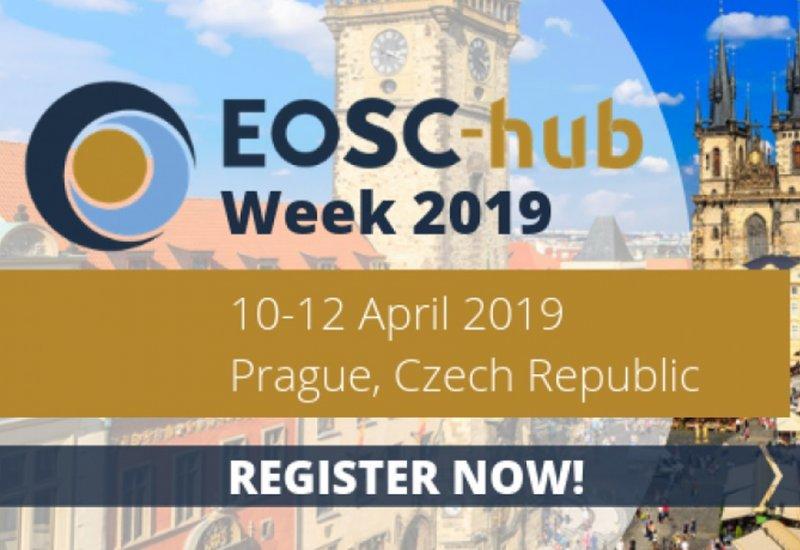 ESCAPE at EOSC-hub Week in Prague (April 2019)