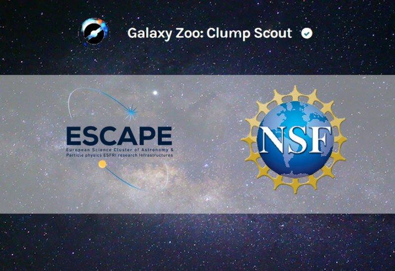 The first ESCAPE Citizen Science project, Clump Scou