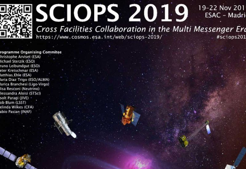 ESCAPE at the ESO/ESA SCIOPS Workshop 2019